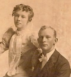 Wedding Edna Snow & James Howard Harriman May 1898