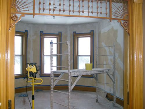 Plaster Repair - Parlor
