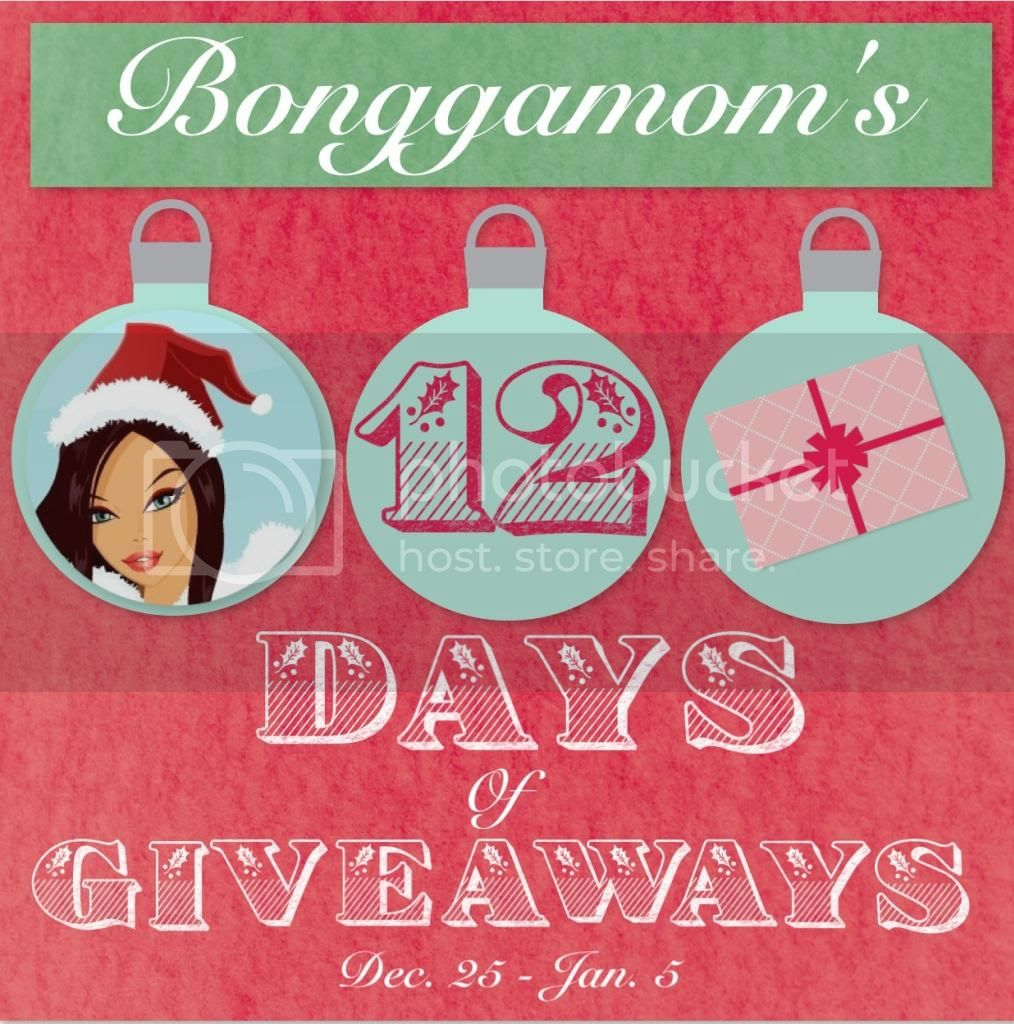 Bonggamom Finds 12 Days of Christmas